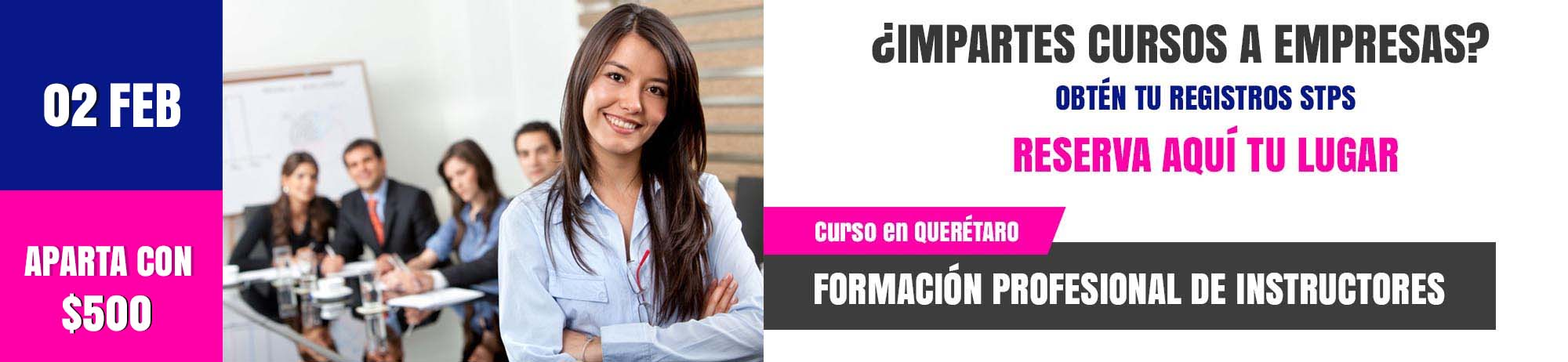Curso de formación de Instructores en Querétaro